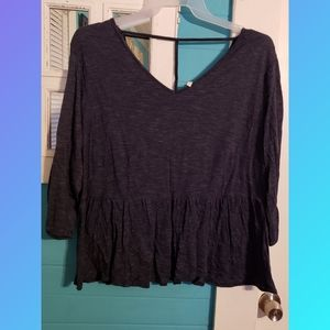 3/4 sleeve top size 18/20